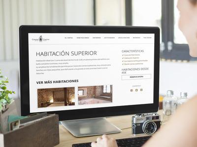 diseño pagina web hotel