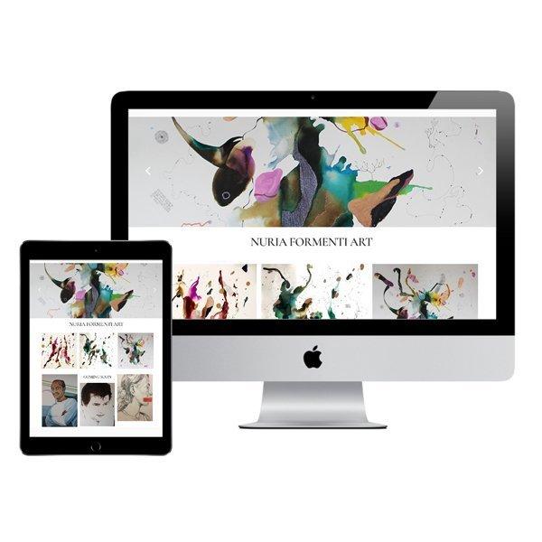 DISEÑO WEB Y TIENDA ONLINE ARTISTA