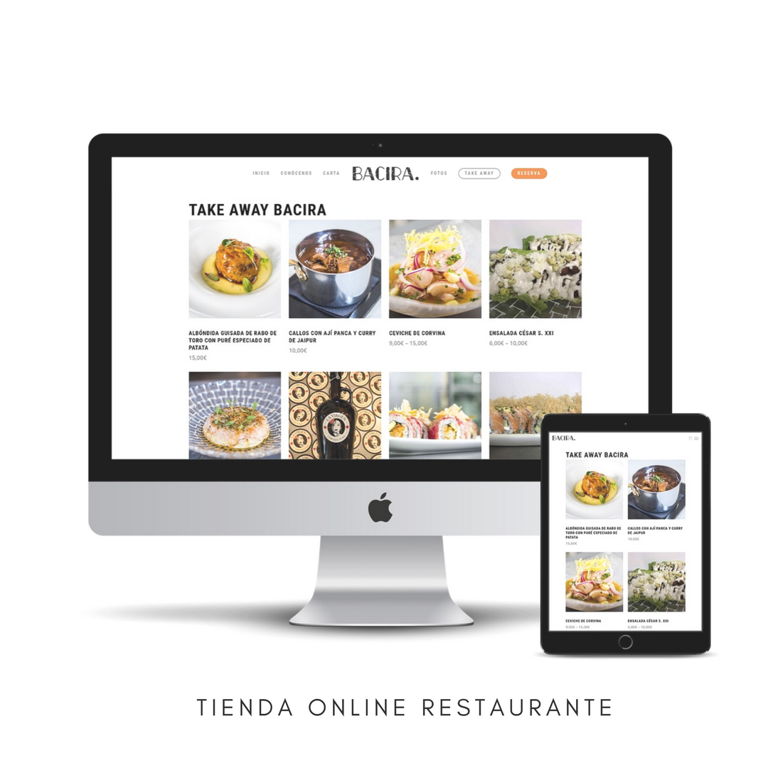 Diseño web take away